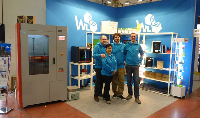 Team WL3D e WorklineStore MECSPE2016